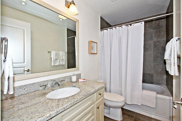 Kilgour Condos 20 Burkebrook Place Unit 329 For Sale Bathroom Toronto Victoria Boscariol Chestnut Park Real Estate