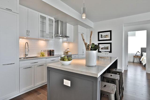 Kitchen Upper House Condos 25 Malcolm Rd Suite 205 Leaside Toronto Victoria Boscariol Chestnut Park Real Estate