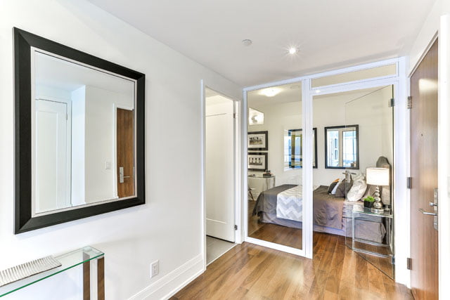 Upper House Condos Leaside Suite 410 Second Bedroom 25 Malcolm Rd Toronto Victoria Boscariol Chestnut Park Real Estate