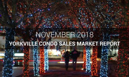Yorkville Condo Sales Slow Down Into The Holiday Season