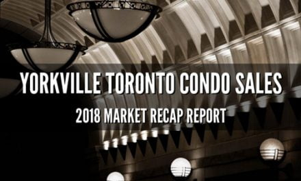 Yorkville Condo Market Maintains Course Into 2019 With Modest Gains In Unit Sold Prices