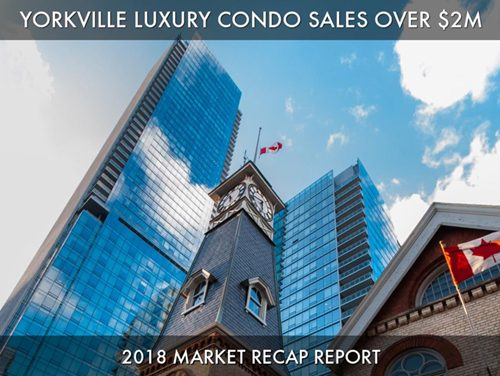 Yorkville Luxury Condo Sales Year Over Year Comparison & Look Ahead Into 2019