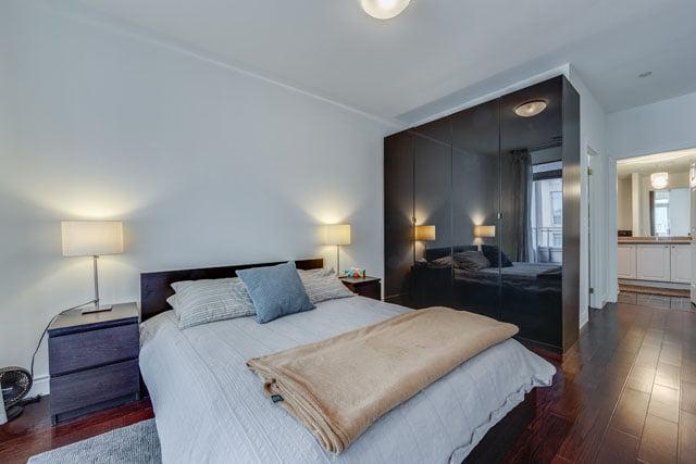 980 Yonge St Unit 505 Toronto Yorkville Rosedale Condos Master Bedroom Victoria Boscariol Chestnut Park Real Estate
