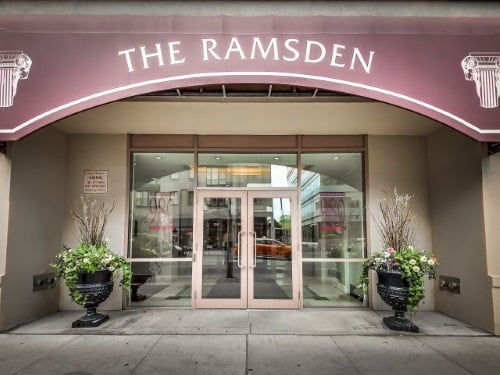 FOR LEASE Luxury 2 Bedroom Corner Unit Plus Terrace 980 Yonge St Toronto The Ramsden Condos Yorkville Rosedale