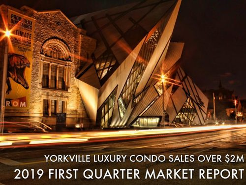 Sold Prices/Square Foot Climb For Luxury Condos In Yorkville