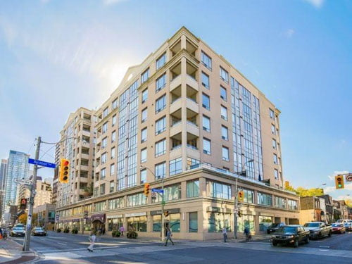 FOR SALE YORKVILLE 2 Bedroom Corner Unit Plus Terrace The Ramsden Condos Next To Rosedale Subway