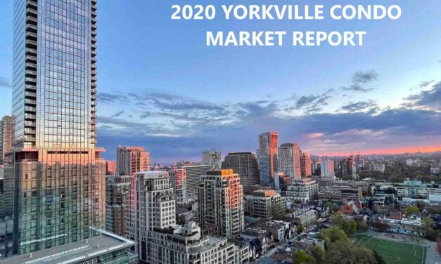 2020 YORKVILLE TORONTO CONDO MARKET RECAP REPORT