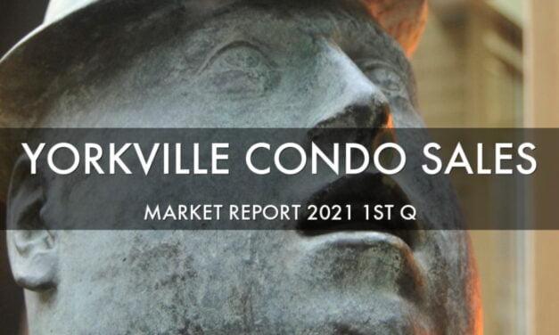 YORKVILLE TORONTO CONDO MARKET REPORT 2021 FIRST QUARTER