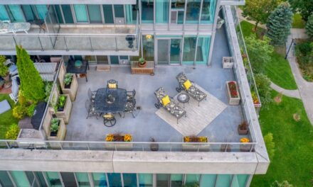 TORONTO LUXURY WATERFRONT CONDO WITH SOUTH FACING 800 SQ FT TERRACE FOR SALE